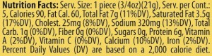 Genoa Nutrition Facts