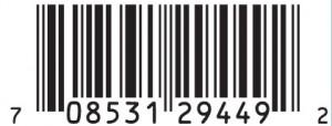 bleu cheese JAL Barcode