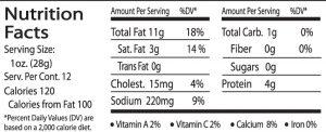 roasted veg nutrition